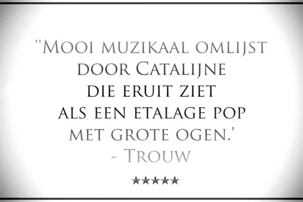 Catalijne, zangeres theater_quote Trouw