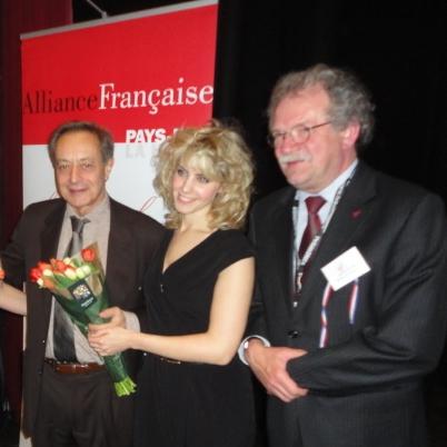 Catalijne, zangeres theater, winnares concours de la chanson Liesbeth List prijs